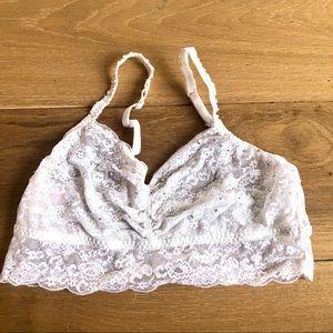 PINK Victoria's Secret Lace Bralette Size Large